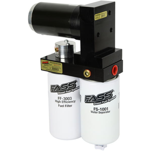 FASS Titanium Signature Series Diesel Fuel Lift Pump 250GPH | TS D08 250G | 2003 - 2004 CUMMINS 5.9L