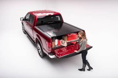 Retrax PowertraxPRO Tonneau Cover 50383 2017-2018 F250/F350 CCSB