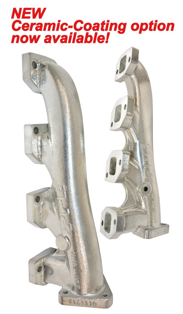 PPE High Flow Exhaust Manifolds & Up Pipes Kit | 116112000 | 2011