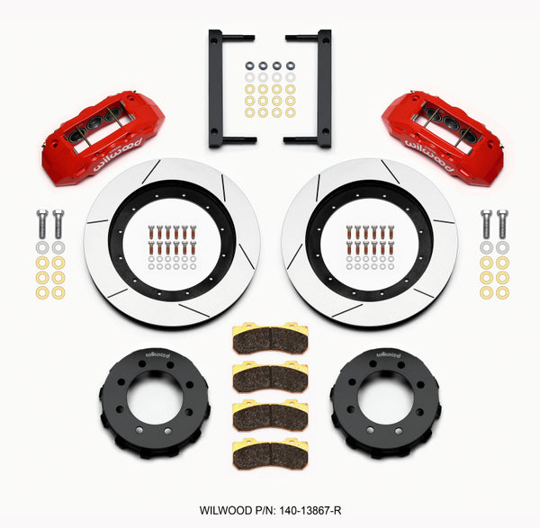 Wilwood TX6R Front Kit 16.00in, 2005-2012 Ford F250/F350 4WD