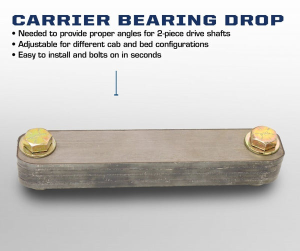 Carli Carrier Bearing Drop