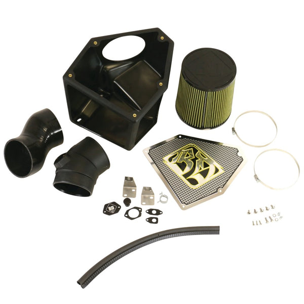 BD Diesel Rumble B 5in Air Intake Kit c/w Sensor Ports | 1405710 | 2004.5 - 2007 CUMMINS 5.9L