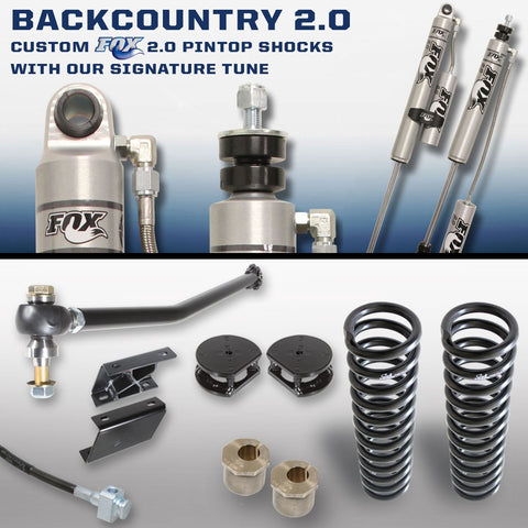 Carli Ford Diesel Leveling BACKCOUNTRY 2.0 System 2017+
