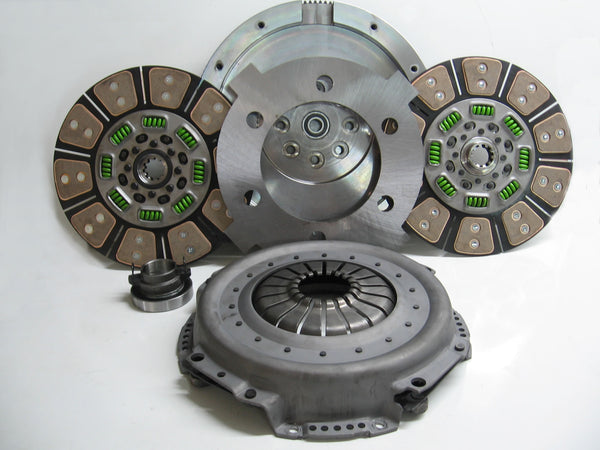 Valair Ceramic Dual Disc Up to 650HP | NMU70NV56DDSN | 2001 - 2005 5.9L CUMMINS