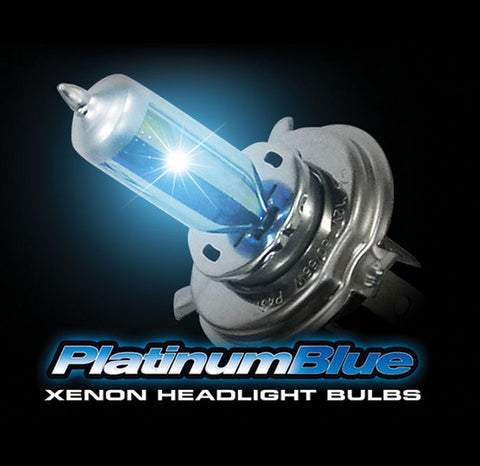 Part # 2649006PB - 9006 HB4 (5,600 KELVIN) Headlight Bulbs in Platinum Blue