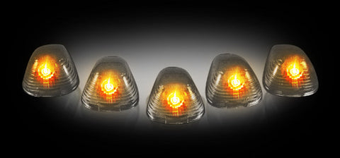 RECON Part # 264142BK - SMOKED Cab Lights Ford 99-16