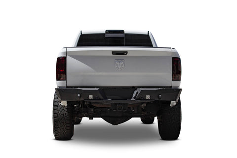ADD Offroad Stealth Fighter Rear Bumper W/Backup Sensor Cutouts | R511231280103 | 2010 - UP Ram 2500/3500