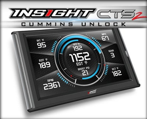 EDGE 84132 CTS2 INSIGHT MONITOR WITH CUMMINS UNLOCK | 13-17 6.7L CUMMINS