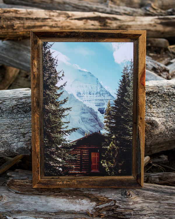Berg Lake Hut, Mt. Robson