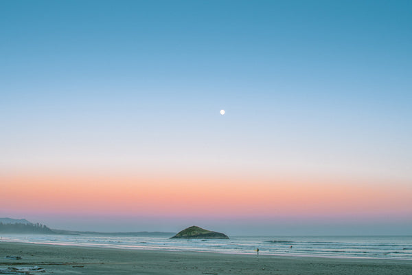 Long Beach, Sunset Moonrise
