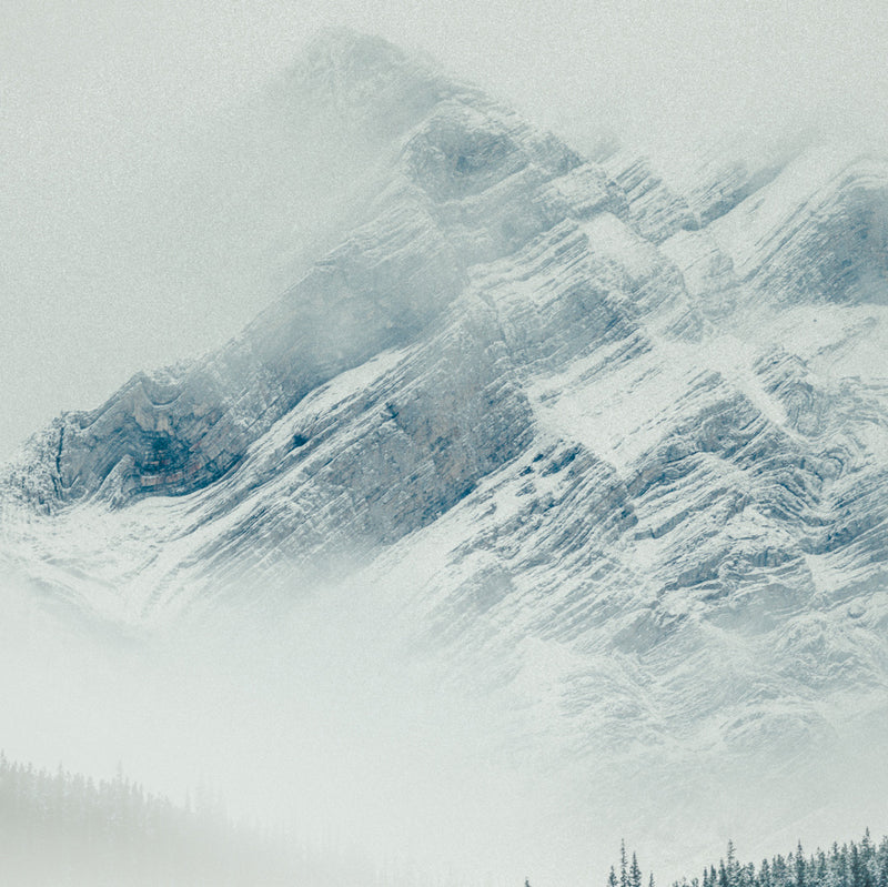 Mountain in the Clouds, Alaska Highway
