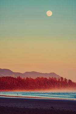 Red, Blue & Sunset Hue, Pacific Rim National Park