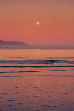 Salmon Moonrise, Schooner Cove