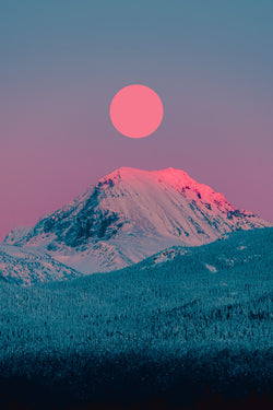 Wedgemount Alpenglow