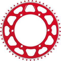 SPROCKET REAR RADIALITE HONDA CR80/85 86-07, CRF150R 07-18 RED