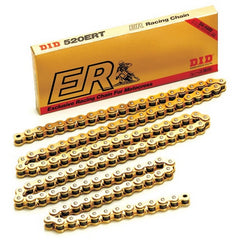 DID MOTOCROSS CHAIN 520ERT2-120 SHD GOLD/BLACK