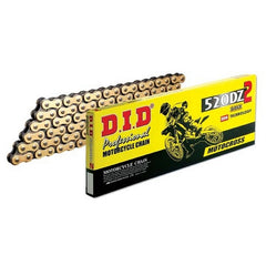 DID CHAIN 520DZ2 (520DZ)-120L HD GOLD/BLACK