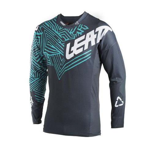 LEATT 2018 MOTOCROSS KIT COMBO - GPX 5.5 GREY/TEAL