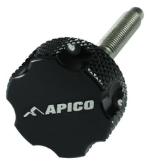 Image of APICO AIRFILTER BOLT 48MM HONDA CR/CRF BLACK (R)