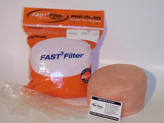 Air Filters - NO TOIL Fast 3 Pre-oiled Motocross Mx Filter - KXF250 06-16 & KXF450 06-15