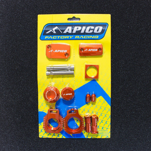 Bling - Apico FACTORY BLING PACK KTM SX125/150 2013 ORANGE