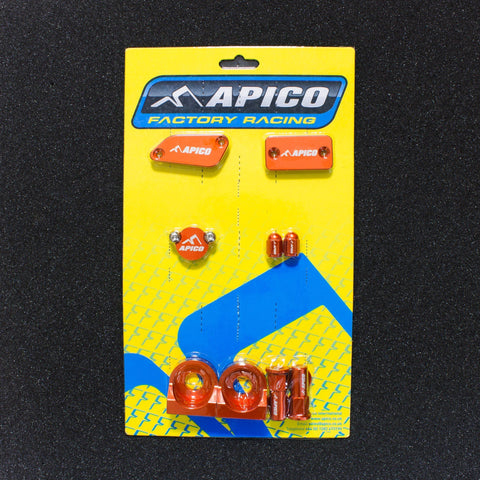 Bling - Apico FACTORY BLING PACK KTM SX65 03-11 ORANGE