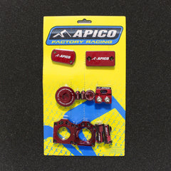 Image of Apico FACTORY BLING PACK SUZUKI RM-Z250 07-16, RM-Z450 05-16 BLUE