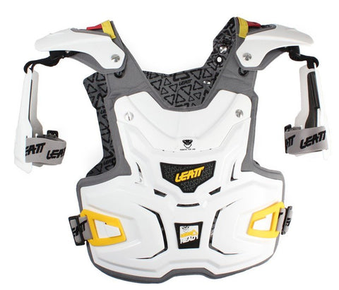 Body Protection - LEATT CHEST PROTECTOR ADVENTURE (BLACK OR WHITE)
