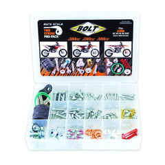 Bolts & Fasteners - BOLT HARDWARE EURO STYLE 2T PRO PACK FASTENER KIT SX/EXC 200-300 00-17 (R)