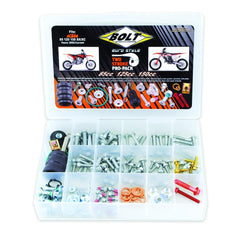 Bolts & Fasteners - BOLT HARDWARE EURO STYLE 2T PRO PACK FASTENER KIT SX/EXC 85-150 02-17 (R)