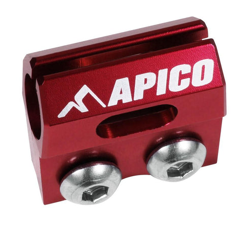 Brake Hose Clamps - APICO BRAKE HOSE CLAMP HONDA CR80/85 96-07, CRF150R 07-18, CR125/250 90-03, CRF450R 02-03 (Colour Options)