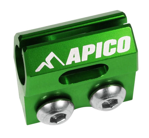 Brake Hose Clamps - APICO BRAKE HOSE CLAMP KAWASAKI/SUZUKI KX/KXF >2018, RM/RM-Z >2017 (Colour Options)