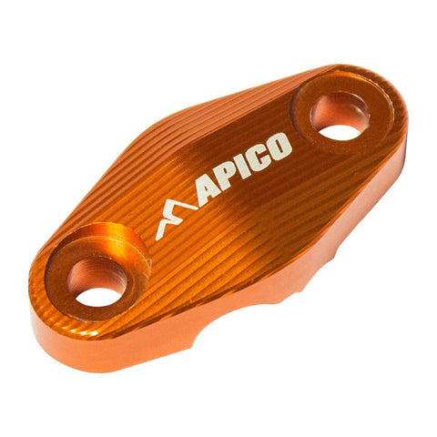 Brake Hose Clamps - APICO BRAKE HOSE CLAMP KTM/HUSKY SX/SX-F 125-450 15-18, EXC/EXC-F 125-500 16-18,TC/FC 125-450 15-18 (Colour Options)