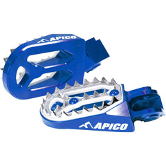 APICO FOOT PEG PRO-BITE KTM 65-530 98-16 /HUSKY 65-530 14-18 (Colour Options)