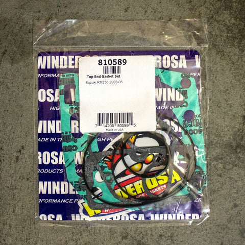 Gaskets - WINDEROSA GASKET TOP SET KTM SX65 09-17 (810338)