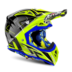 Image of AIROH AVIATOR 2.2 TC16 MANTOVA MOTOCROSS/MX HELMET