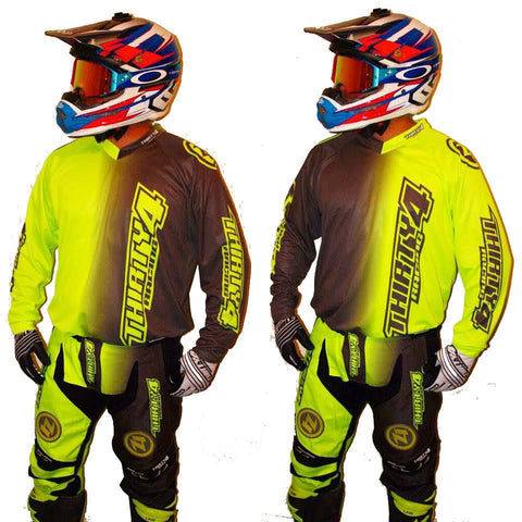 MX Kit Combos - 2017 Thirty4 Racing Revolution Motocross/MX Kit Combos (Youth) Flo/Grey