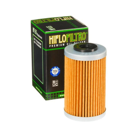 Oil Filters - HIFLO HF655 Motocross MX Oil Filter