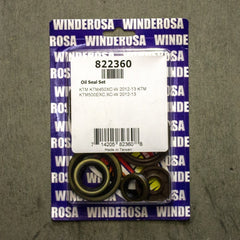 Seals - WINDEROSA ENGINE OIL SEAL KIT KTM SX65 09-16 (822348)