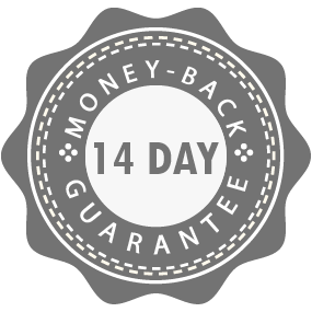 Image of 100% Risk Free - 14 day money back guarantee - just return in an unused condition