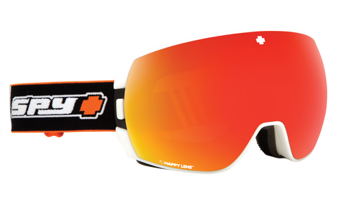 Legacy Snow Goggle - Happy Gray Green with Red Spectra + Happy Persimmo
