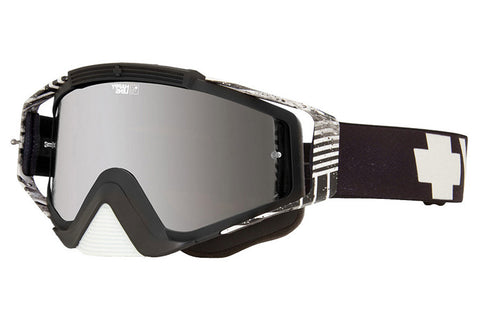 Spy Optic Infinite White Omen Goggle w/Happy Bronze/Silver Mirror Lens
