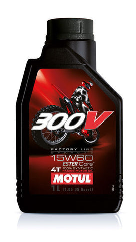 Motul, 300V Factory Line Off Road 15W60 - 1L, [product_type],  [variant_title] - Specialty Motorsports