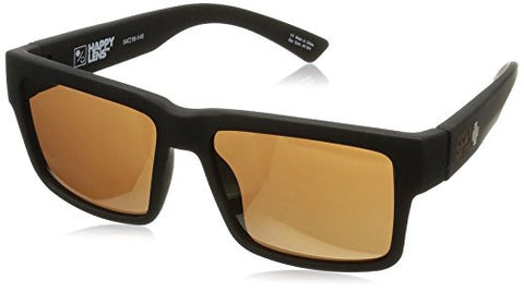 Spy Optics Montana Soft Matte Black - Happy Bronze W/ Gold Mirror