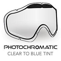 509 Sinister X5 Snow Goggle Lens - Clear to Blue Photochromatic