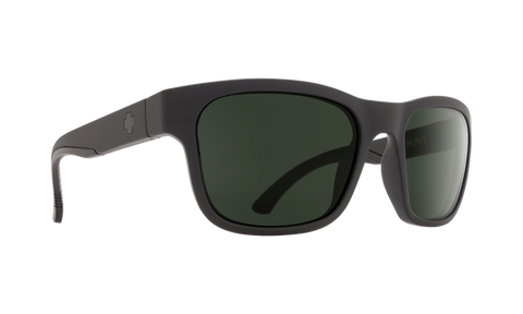 SPY Hunt Polarized Matte Black Sunglasses