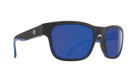 Spy Optics, Spy Hunt Polarized Matte Black/navy Sunglasses, [product_type],  [variant_title] - Specialty Motorsports
