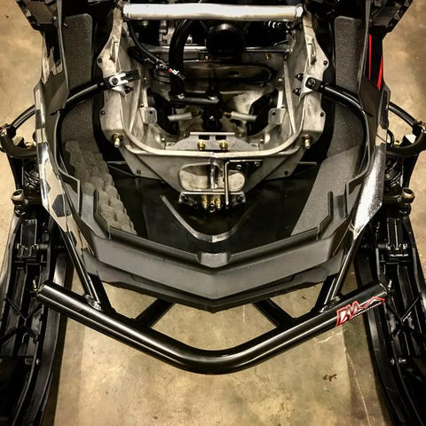 BM FAB Ski Doo Rev Gen 4 Exo Front Bumper - B&M Fabrications - [product_type] - Specialty Motorsports