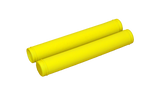 Mountain Sports Distribution, CFR Snowmobile Grips, [product_type],  Yellow - Specialty Motorsports
