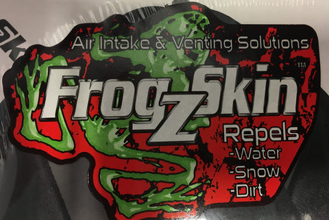 "Frogzskin, Circle, 4"" OD by 2.5"" ID (1 piece per kit), [product_type],  [variant_title] - Specialty Motorsports"